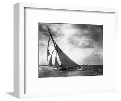 Sailing Yacht Mohawk at Sea--Framed Photographic Print