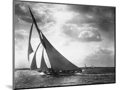 Sailing Yacht Mohawk at Sea--Mounted Photographic Print