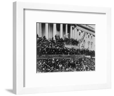Second Inauguration of President Lincoln--Framed Photographic Print