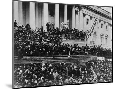 Second Inauguration of President Lincoln--Mounted Photographic Print