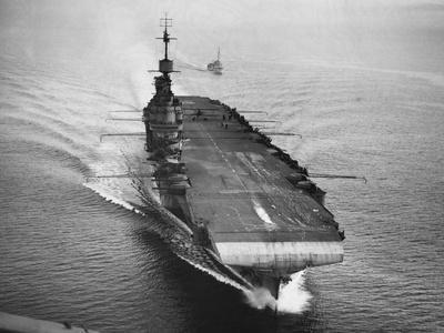 HMS Illustrious, 1942--Framed Photographic Print