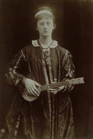 The Princess-Julia Margaret Cameron-Framed Photographic Print