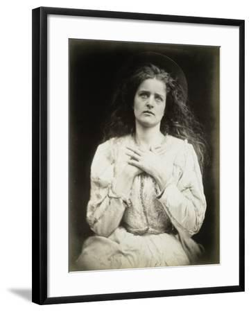 The May Queen-Julia Margaret Cameron-Framed Photographic Print