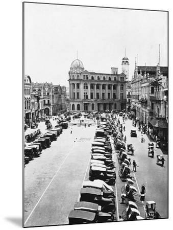 Raffles Square--Mounted Photographic Print
