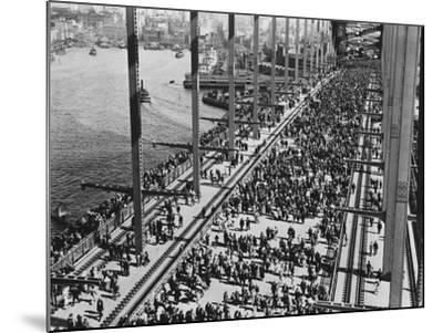 Opening of the Sydney Harbour Bridge--Mounted Photographic Print