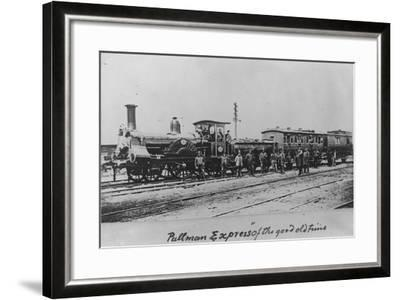 Pullman Express Locomotive--Framed Photographic Print