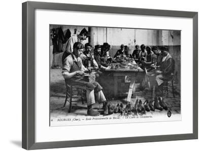 Cobbling Class--Framed Photographic Print