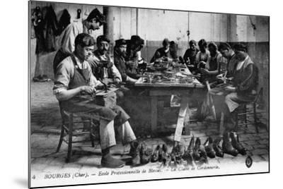 Cobbling Class--Mounted Photographic Print