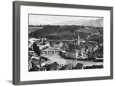 A View of Bern--Framed Photographic Print