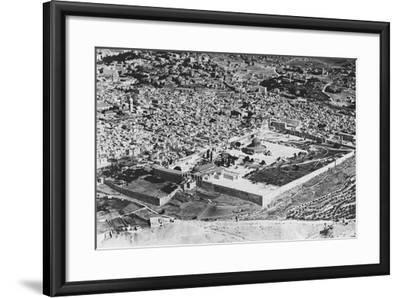 Jerusalem--Framed Photographic Print
