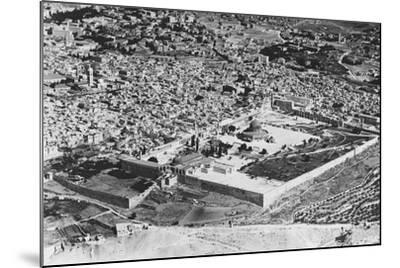 Jerusalem--Mounted Photographic Print