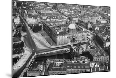 A View of Berlin--Mounted Photographic Print