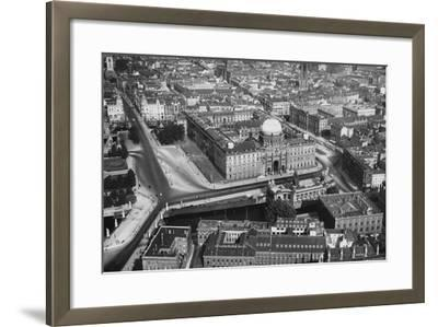 A View of Berlin--Framed Photographic Print