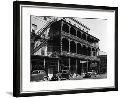 French Style House--Framed Photographic Print