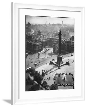 Trafalgar Square, London--Framed Photographic Print