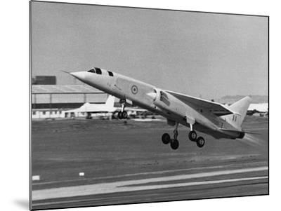 First Flight of Bac Tsr.2--Mounted Photographic Print