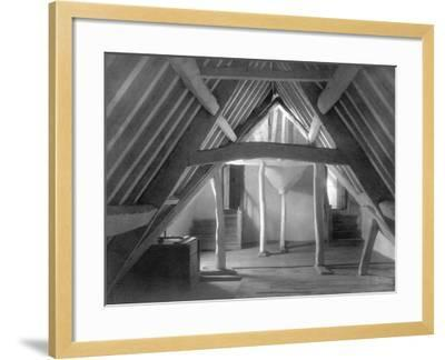 Attic of Kelmscott Manor-Frederick Henry Evans-Framed Photographic Print
