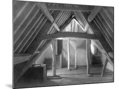 Attic of Kelmscott Manor-Frederick Henry Evans-Mounted Photographic Print