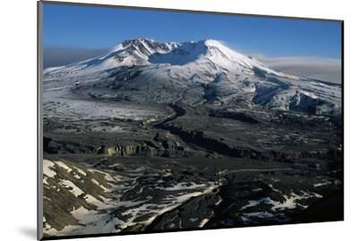 Ash Filled Valley Near Mount St. Helens-Paul Souders-Mounted Photographic Print