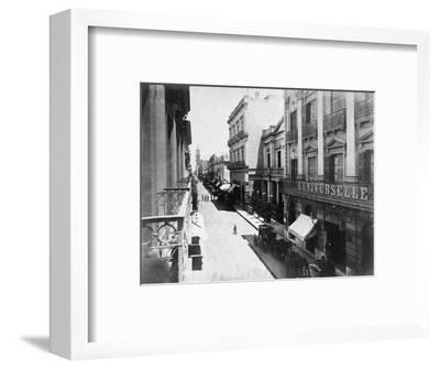 Buenos Aires Streetscene--Framed Photographic Print