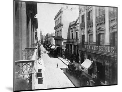 Buenos Aires Streetscene--Mounted Photographic Print
