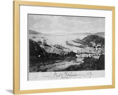 Port Chalmers--Framed Photographic Print
