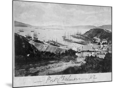 Port Chalmers--Mounted Photographic Print