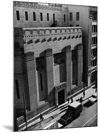 Pacific Coast Stock Exchange--Mounted Photographic Print