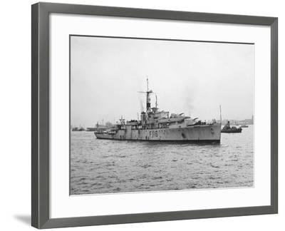 Arrival of HMS Amethyst, Hong Kong 1949--Framed Photographic Print