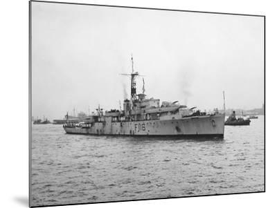 Arrival of HMS Amethyst, Hong Kong 1949--Mounted Photographic Print