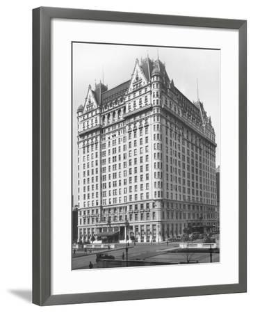 Plaza Hotel--Framed Photographic Print