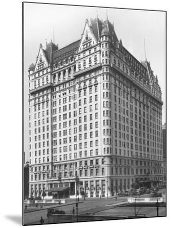 Plaza Hotel--Mounted Photographic Print
