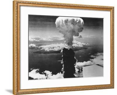 A-Bomb Damage to Nagasaki--Framed Photographic Print
