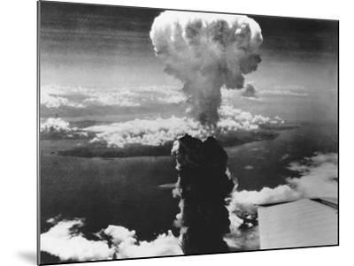 A-Bomb Damage to Nagasaki--Mounted Photographic Print
