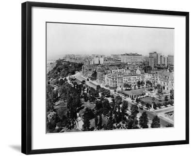 Overview of Riverside Drive and Riverside Park-Irving Underhill-Framed Photographic Print