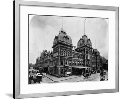 Grand Central Depot, New York--Framed Photographic Print