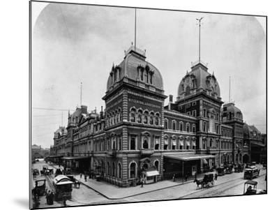 Grand Central Depot, New York--Mounted Photographic Print