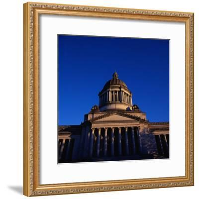 Washington State Capitol Building-Paul Souders-Framed Photographic Print