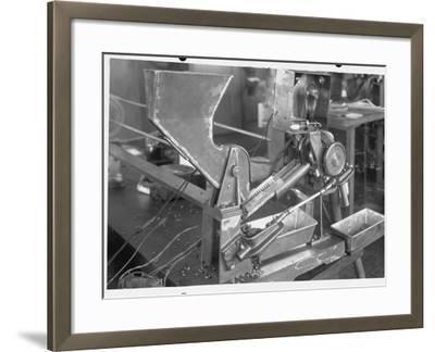 Coffee Bean Sorting Machine--Framed Photographic Print