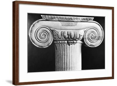 Column Capital from Temple of Artemis at Ephesus--Framed Photographic Print