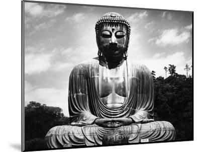 Great Buddha of Kamakura--Mounted Photographic Print
