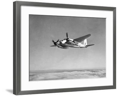 De Havilland Mosquito in Flight--Framed Photographic Print