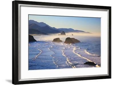 Haystack Rock from Ecola State Park, Oregon Coast-Craig Tuttle-Framed Photographic Print