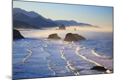 Haystack Rock from Ecola State Park, Oregon Coast-Craig Tuttle-Mounted Photographic Print