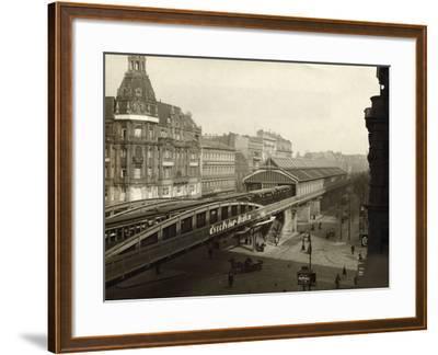 Danziger Street Railway Station--Framed Photographic Print