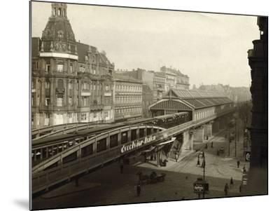 Danziger Street Railway Station--Mounted Photographic Print