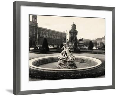 Statue of Empress Maria Theresia--Framed Photographic Print