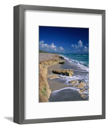 Beach on Jupiter Island-James Randklev-Framed Photographic Print