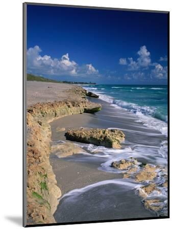 Beach on Jupiter Island-James Randklev-Mounted Photographic Print