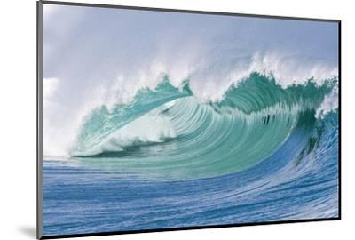Breaking Wave in Hawaii-Ron Dahlquist-Mounted Photographic Print